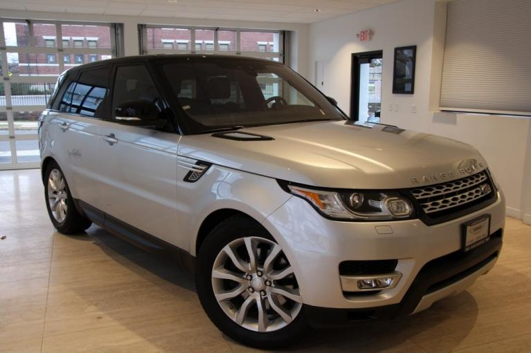 Used 2017 Land Rover Range Rover Sport 3.0L V6 Supercharged HSE for sale $48,900 at Lotus North Jersey in Summit NJ