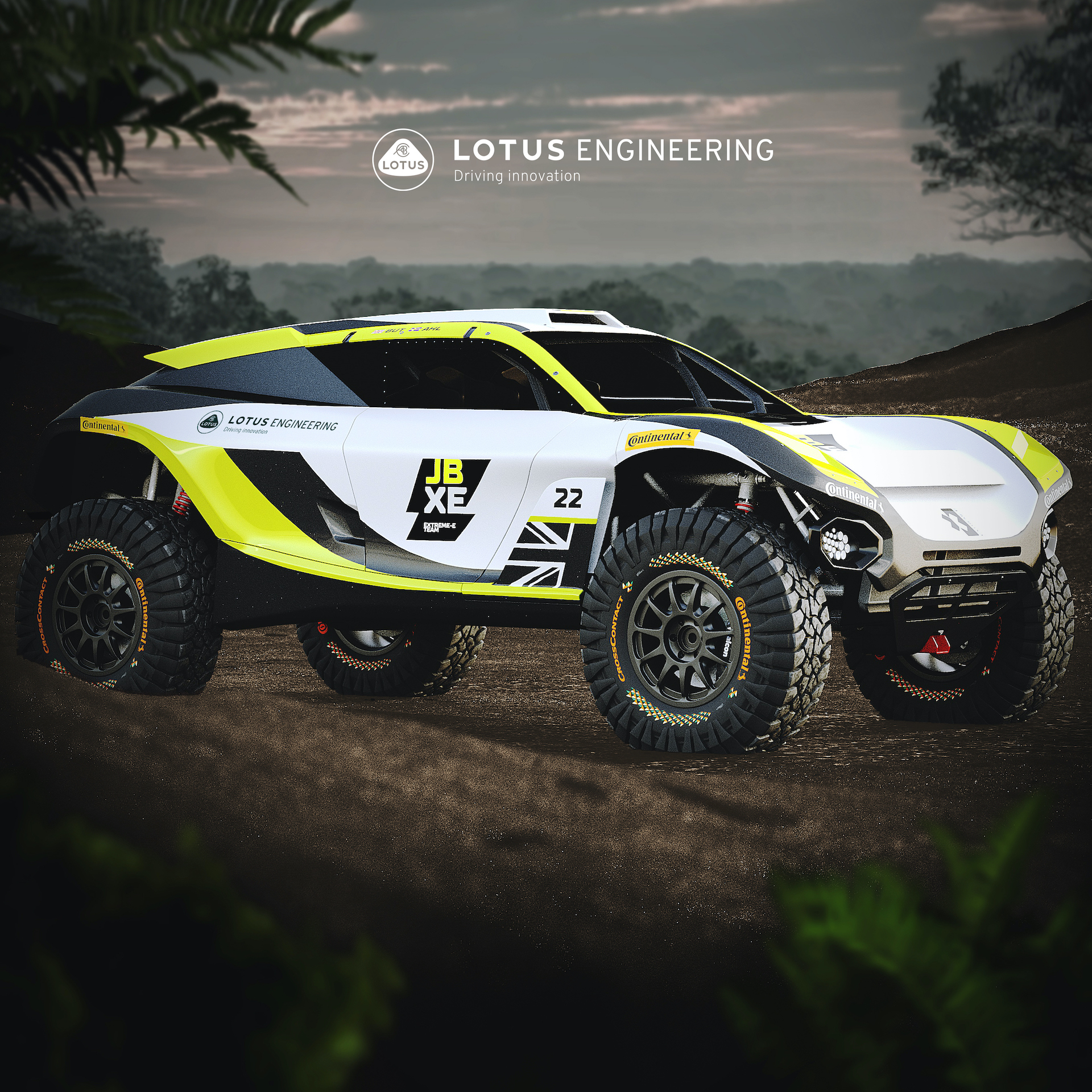 JBXE Racing and Lotus Engineering Join Forces in Extreme E Technical Partnership