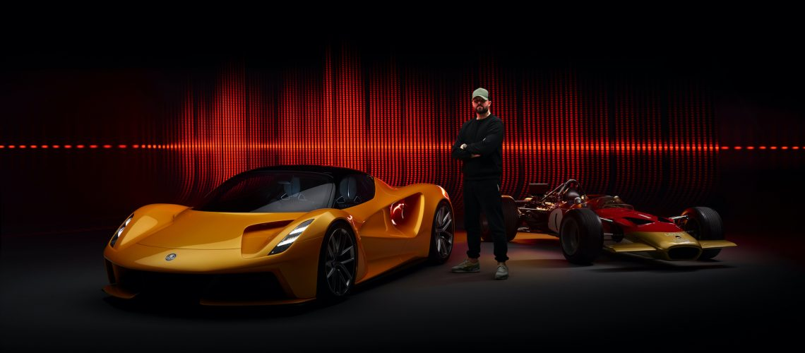 The Sounds of Evija: British Music Producer Remixes Iconic Lotus Engine Note for EV Hypercar